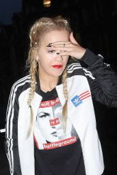Rita Ora Street Style - Out in London, October 2015