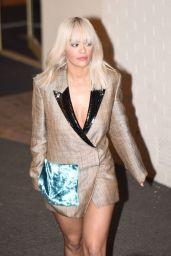 Rita Ora Style - Leaving X-Factor Studios in London, 11/15/2015