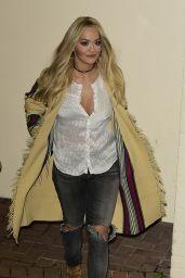 Rita Ora Style - Leaving X Factor Studios in London, 11/22/2015