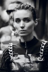 Rooney Mara - B&W Photoshoot for Interview Magazine November 2015