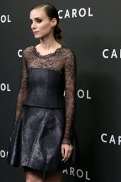 Rooney Mara - Carol Premiere in New York City