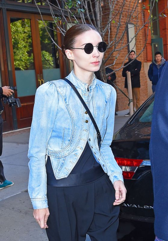 Rooney Mara - Out in Tribeca in New York, November 2015