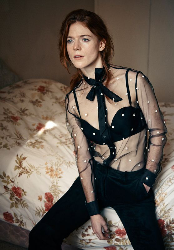 Rose Leslie - Interview Magazine October 2015 Pics