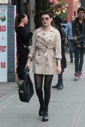 Rose McGowan - Out in NYC, November 2015