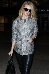 Rosie Huntington-Whiteley Airport Style - LAX, November 2015