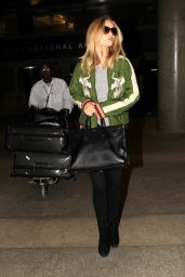 Rosie Huntington-Whiteley at LAX Airport, November 2015