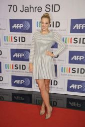 Sabine Lisicki - 70 Years SID Celebration in Cologne, October 2015