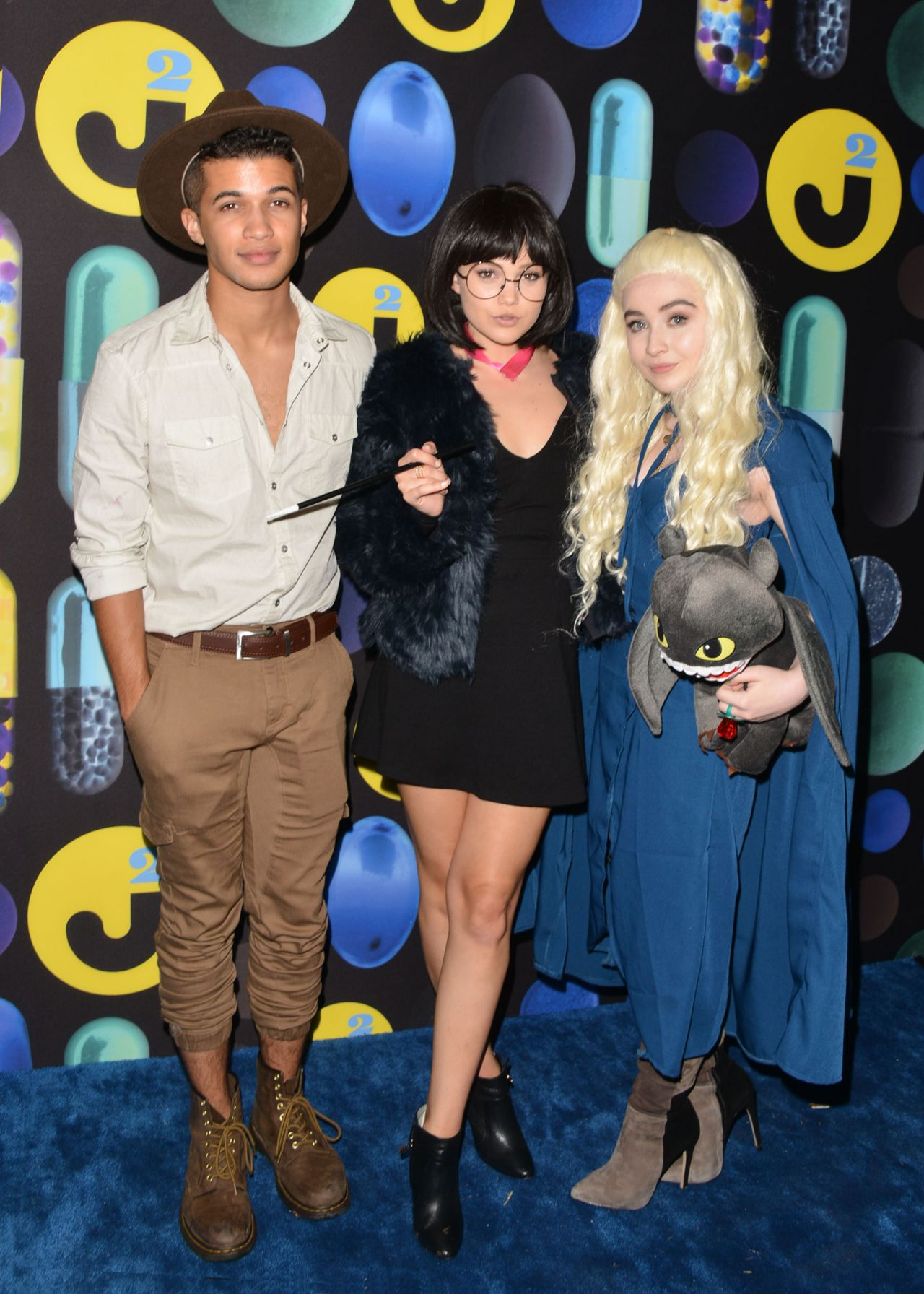 Carpenter – Just Jared Halloween Party in Los Angele, October 2015