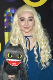 Sabrina Carpenter – Just Jared Halloween Party in Los Angele, October 2015