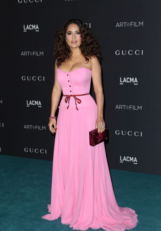 Salma Hayek - LACMA 2015 Art+Film Gala Honoring James Turrell And Alejandro G Inarritu in Los Angeles