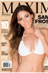 Sam Frost Bikini PIcs - Maxim Magazine (Australia) December 2015 Issue