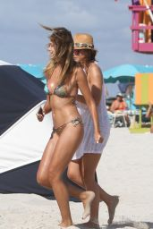 Sandra Kubicka Bikini Pics - Miami Beach, November 2015