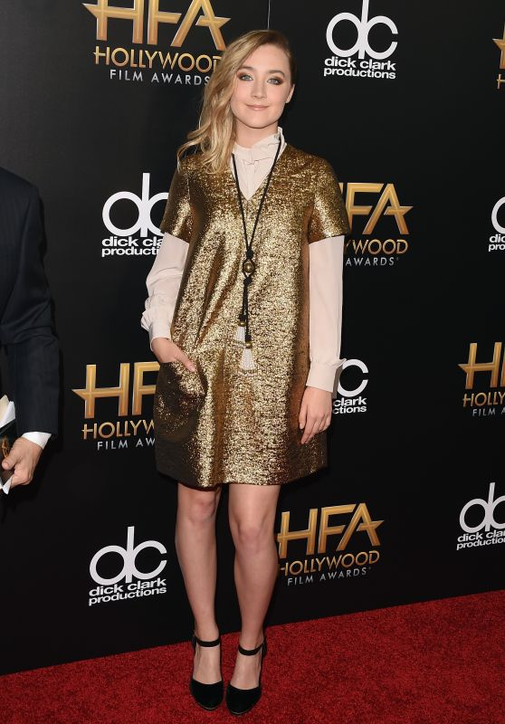 Saoirse Ronan - 2015 Hollywood Film Awards in Beverly Hills