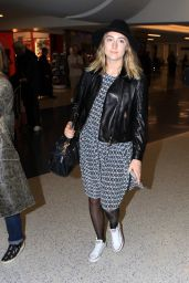 Saoirse Ronan at LAX Airport, November 2015