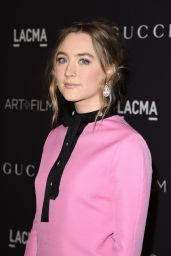 Saoirse Ronan - LACMA 2015 Art+Film Gala Honoring James Turrell And Alejandro G Inarritu in LA