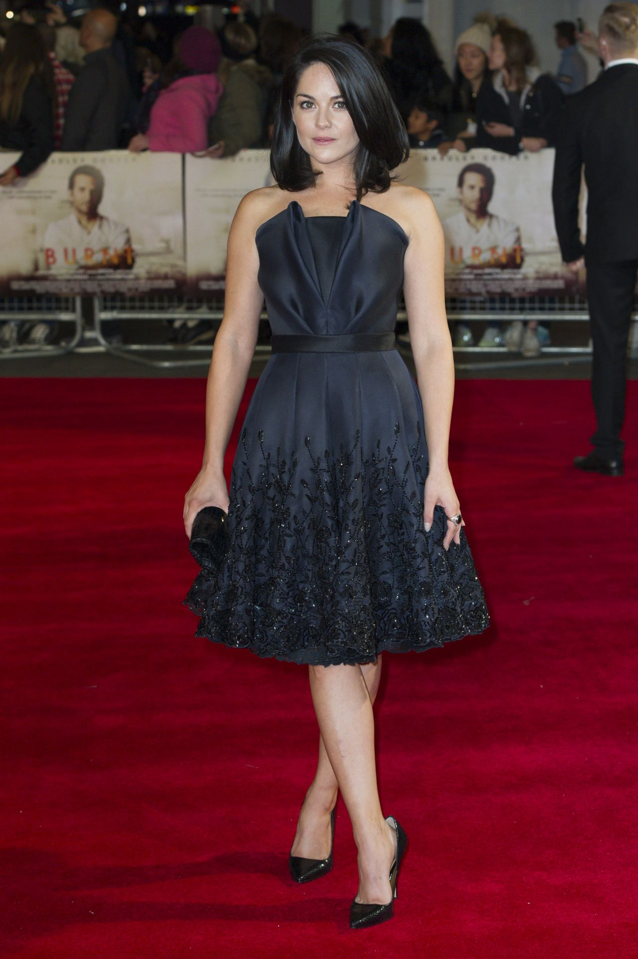 Sarah Greene Burnt Premiere In London
