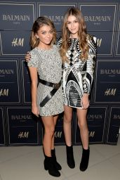 Sarah Hyland – Balmain x H&M Los Angeles VIP Pre-Launch in West Hollywood