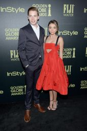 Sarah Hyland - HFPA And InStyle Celebrate The 2016 Golden Globe Award Season in West Hollywood