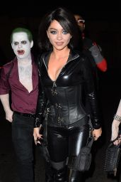 Sarah Hyland – Just Jared Halloween Party in Los Angele, October 2015