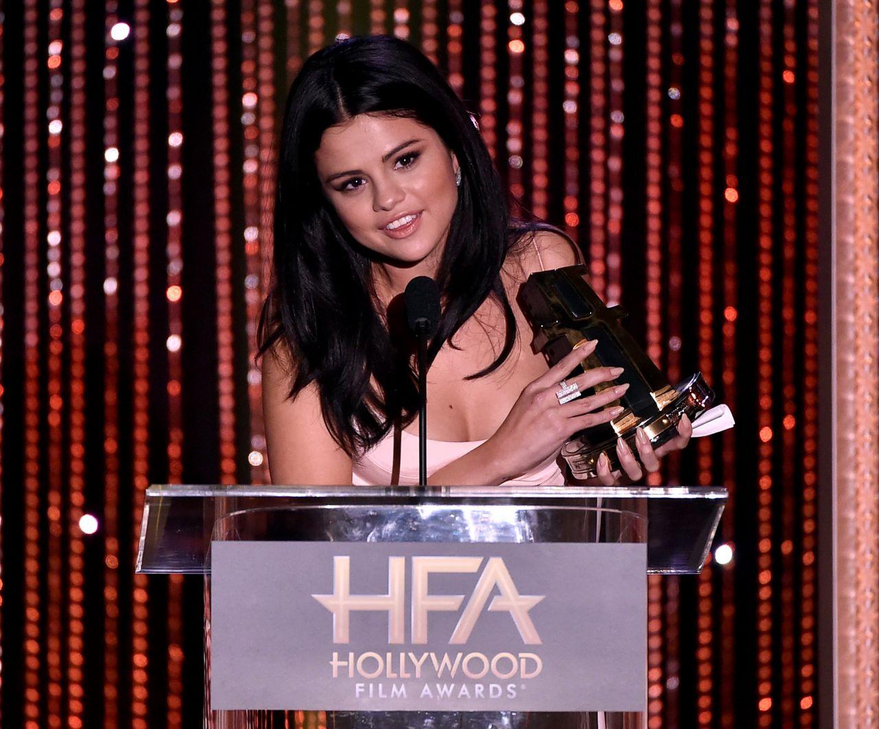 Selena Gomez - 2015 Hollywood Film Awards In Beverly Hills-2566