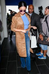 Selena Gomez Style - at LAX Airport, 11/24/2015