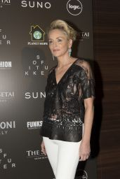 Sharon Stone - Celebration of Hope Event by Planet Hope Foundation in Miami Beach