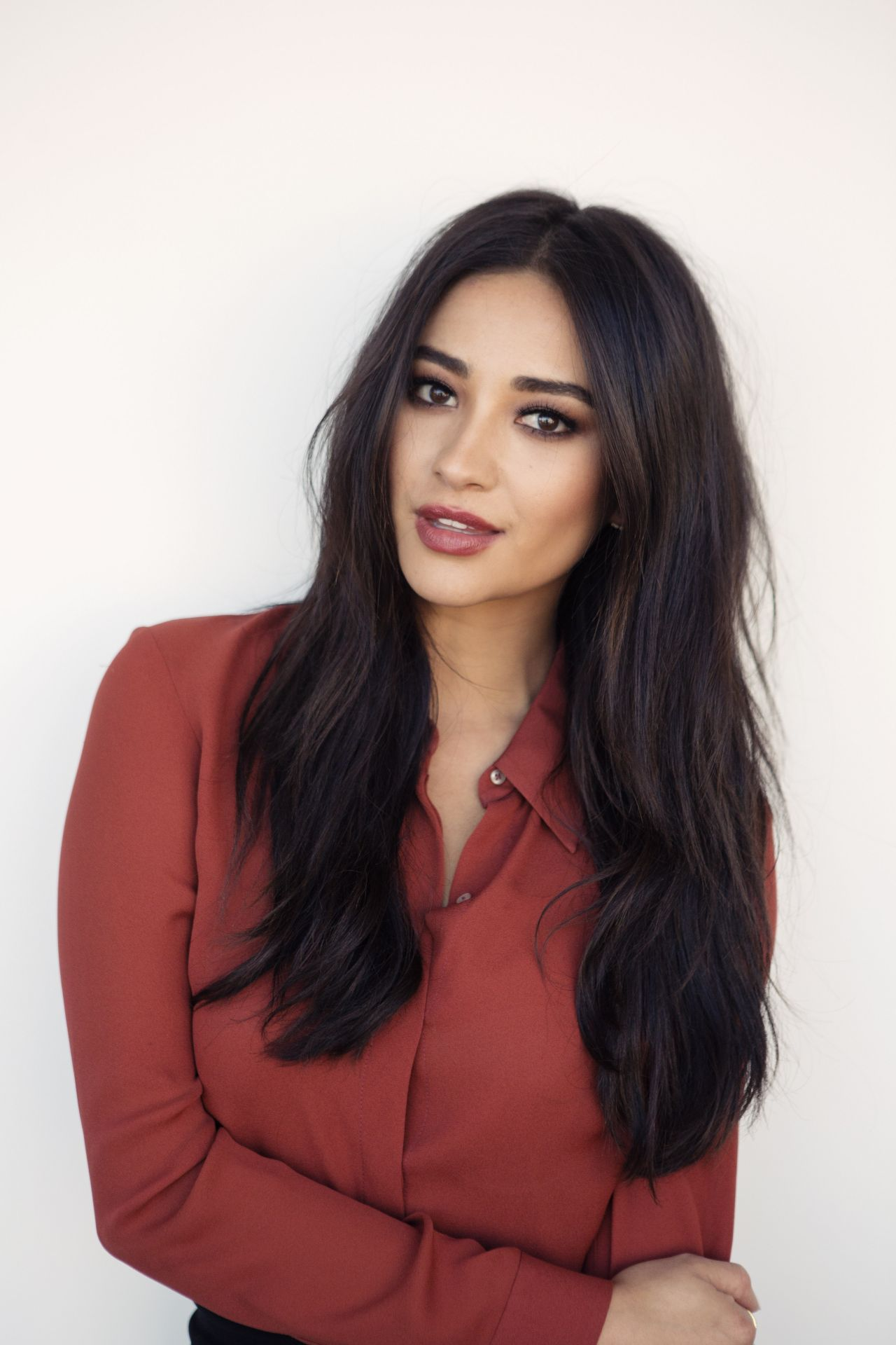 Shay Mitchell Bliss Portraights October 2015