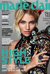 Sienna Miller - Marie Claire Magazine South Africa December 2015 Cover