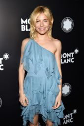 Sienna Miller - The 24th Montblanc De La Culture Arts Patronage Award in New York City