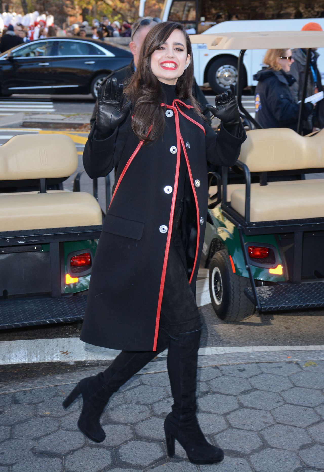 Sofia Carson 2015 Macy S Thanksgiving Parade In New York