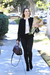 Sophia Bush - Out in LA, November 2015