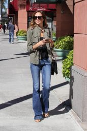 Stacy Kiebler Casual Style - Beverly Hills, November 2015