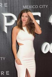 Stephanie Cayo on Red Carpet – James Bond 'Spectre' Latin America Film Premiere in Mexico City