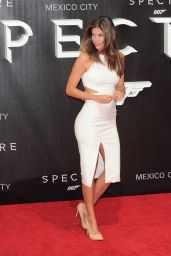 Stephanie Cayo on Red Carpet – James Bond 'Spectre' Latin America Film Premiere in Mexico City