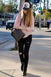 Taissa Farmiga - Out in West Hollywood, November 2015