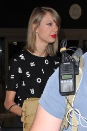 Taylor Swift Style - LAX Airport in LA, November 2015