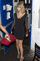 Taylor Swift Style - Leaving The Little Door Restaurant in LA, November 2015