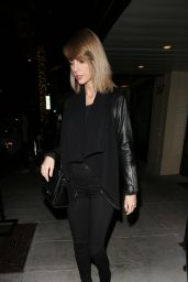 Taylor Swift Style - Leaving The Palms Restaurant in Beverly Hills, 11/17/2015