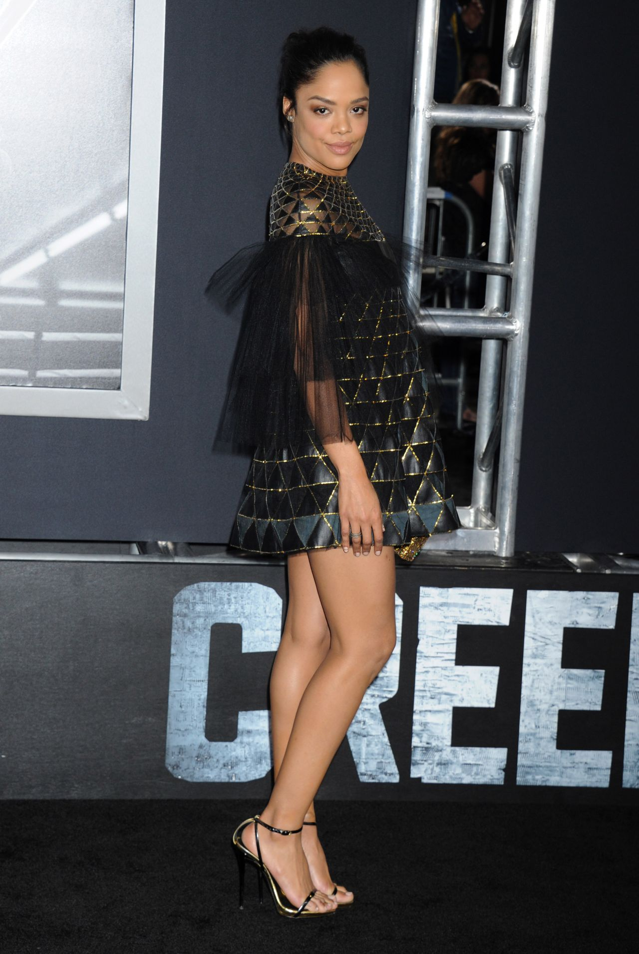 Tessa Thompson Warner Bros Pictures Creed Premiere