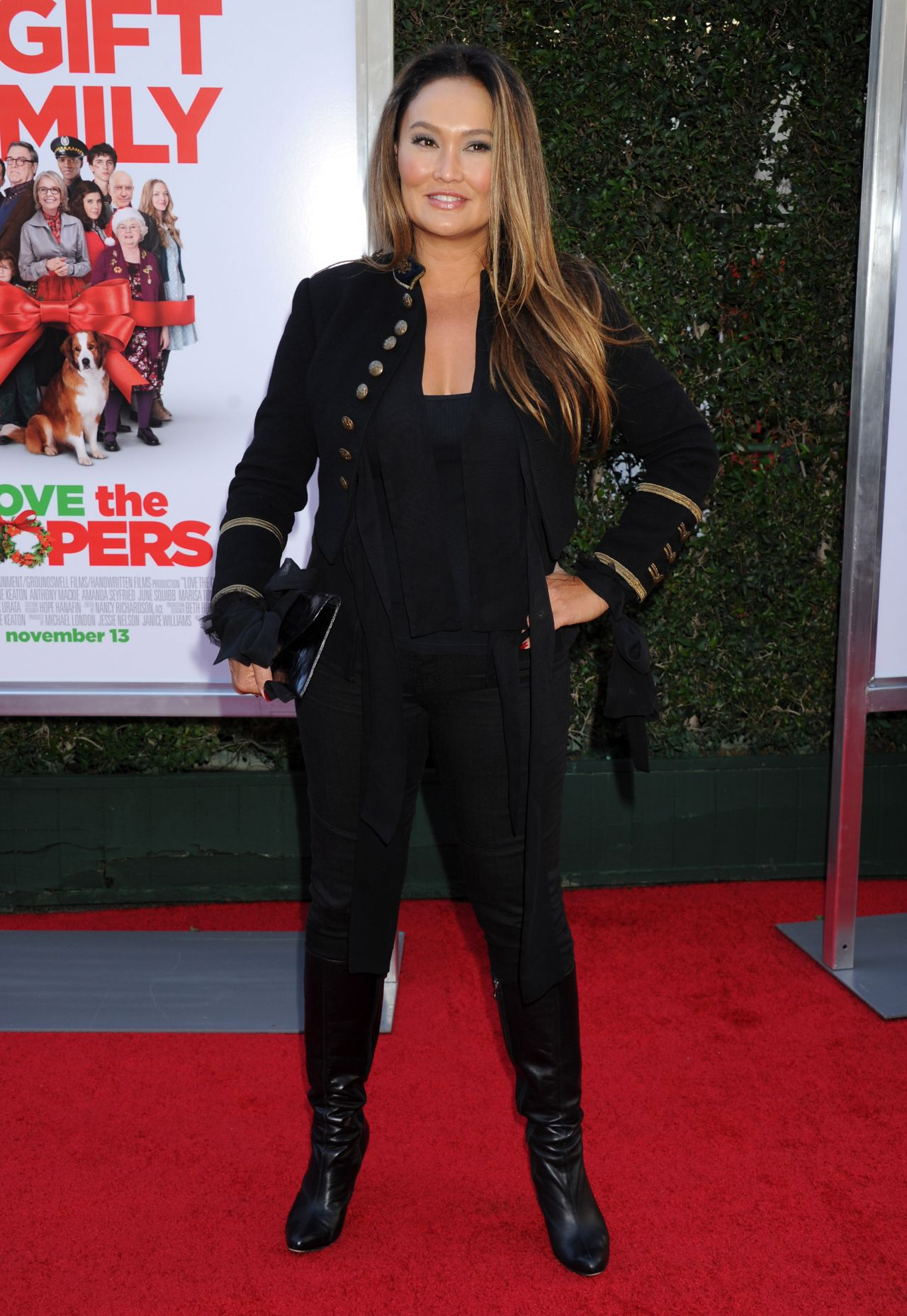 Tia Carrere Love The Coopers Premiere In Los Angeles
