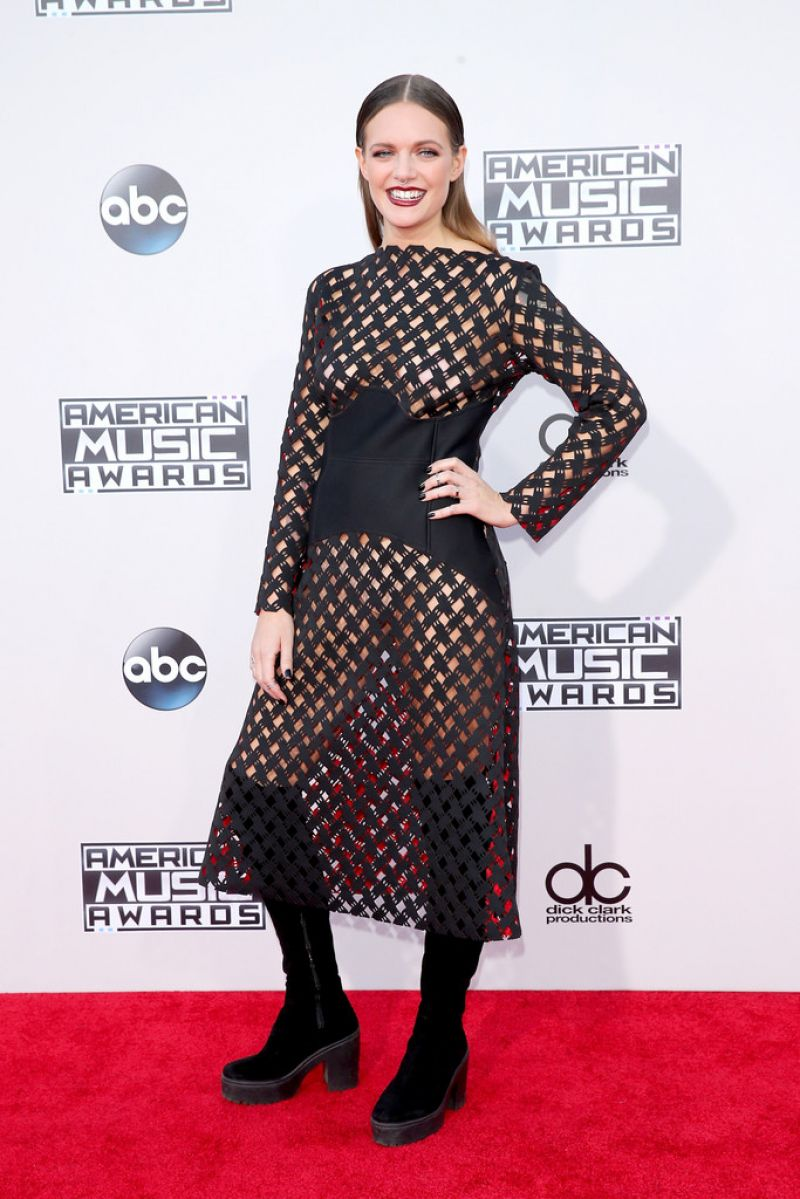 Tove Lo 2015 American Music Awards In Los Angeles