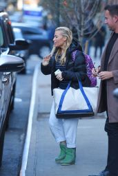 Tracy Anderson - Out in Tribeca, New York City, November 2015