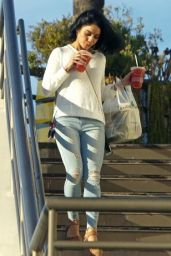 Vanessa Hudgens in Tight Jeans - Leaving