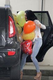 Vanessa Hudgens in Tight Jeans - Leaving
