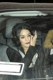 Vanessa Hudgens - Leaving Cecconi's in West Hollywood, November 2015