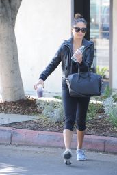 Vanessa Minillo - Out in Los Angeles, November 2015