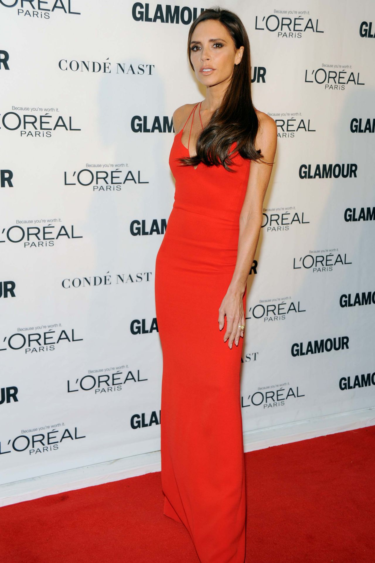 Victoria Beckham 2015 Glamour Women Of The Year Awards