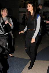 Victoria Justice at LAX Airport, November 2015