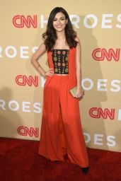 Victoria Justice - CNN Heroes 2015 in NEw York City