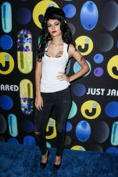 Victoria Justice – Just Jared Halloween Party in Los Angele, October 2015